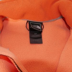 The North Face Sweaters - The North Face | Small Orange Fleece Zip Jacket